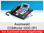 Auerswald COMfortel 3200 (IP): Schnurgebundenes Systemtelefon mit DHSG-Unterstützung