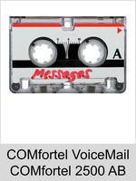 COMfortel VoiceMail für Auerswald COMfortel 2500 AB