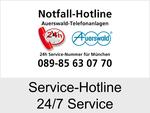 24/7 SOS-Hotline und 24/7 Service