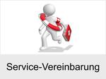 Beruhigende Sicherheit: Service-Vereinbarung