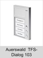 Türsprechtechnik: Auerswald TFS-Dialog 103