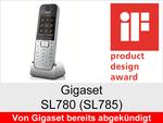 Gigaset SL780 + SL785: Schnurloses Telefon (Schick)