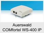 """Funktionserweiterungen und Freischaltungen für Auerswald COMfortel WS-400 IP"""": WS-400 IP Multicell / 30 User / 12 Kanäle"""