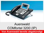 Auerswald  COMfortel 3200 IP: Schnurgebundenes IP-Systemtelefon