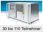 Meine neue Auerswald Telefonanlage ist für 30 bis 110 Teilnehmer (COMmander 6000RX)