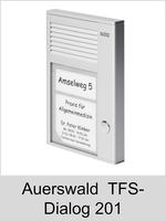 Türsprechtechnik: Auerswald TFS-Dialog 201
