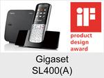 Gigaset SL400 + SL400A: Schnurloses Telefon (Schick)