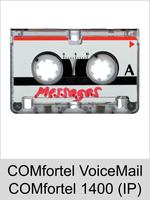 Auerswald Upgrade-Center - Funktionserweiterungen und Freischaltungen für Anlagen und Telefone: COMfortel VoiceMail