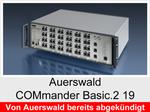 "Archiv - Telefonanlage: Auerswald COMmander Basic.2 19"""