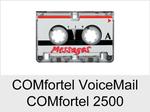 Funktionserweiterungen und Freischaltungen für Anlagen und Telefone: Comfortel VoiceMail