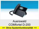 Auerswald  COMfortel 600: Schnurgebundenes analoges Telefon