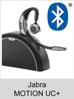 Jabra MOTION UC+: Schnurloses Bluetooth Headset ohne Kopfbügel