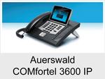 Auerswald COMfortel 3600 IP: Schnurgebundenes IP-Systemtelefon mit Headsetanschluss