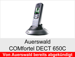 Archiv - Schnurloses analog Telefon: Auerswald COMfortel DECT 650C