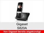 Archiv - Schnurloses Telefon: Gigaset S820A