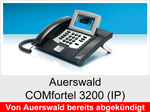 Auerswald COMfortel 3200 (IP): Schnurgebundenes IP-Systemtelefon mit Headsetanschluss