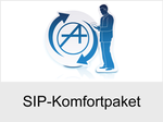 Funktionserweiterungen und Freischaltungen für Anlagen und Telefone: SIP-Komfortpaket