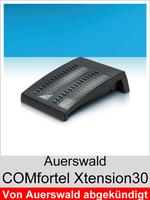Erweiterung für COMfortel Systemtelefone: Auerswald COMfortel Xtension30 Schwarz