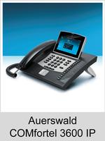 Freischaltungen und Funktionserweiterungen: Dongle-Freigaben und Freischaltcodes für Auerswald COMfortel 3600 IP
