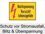 Schutz vor Blitz, Überspannung und Stromausfall
