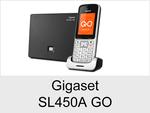 Schnurloses Telefon: Gigaset SL450A GO