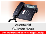 Archiv - Schnurgebundenes ISDN Telefon: Auerswald COMfort 1200