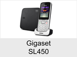 Schnurloses Telefon: Gigaset SL450