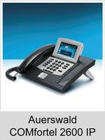 Freischaltungen und Funktionserweiterungen: Dongle-Freigaben und Freischaltcodes für Auerswald COMfortel 2600 IP