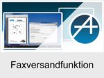Funktionserweiterungen und Freischaltungen für Anlagen und Telefone: Faxversandfunktion