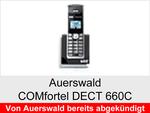 Archiv - Schnurloses analog Telefon: Auerswald COMfortel DECT 660C