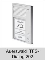Türsprechtechnik: Auerswald TFS-Dialog 202