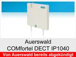 """Funktionserweiterungen und Freischaltungen für Auerswald COMfortel DECT IP1040"""": DECT-System-ARI"""