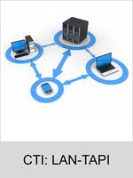 Freischaltungen und Funktionserweiterungen: Dongle-Freigabe, Freischaltcode, Aktivierung für Telefonanlagen: CTI: LAN-TAPI