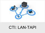 Funktionserweiterungen und Freischaltungen für Anlagen und Telefone: CTI: LAN-TAPI