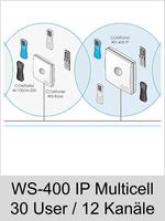 Freischaltungen und Funktionserweiterungen: Dongle-Freigabe, Freischaltcode, Aktivierung für Auerswald COMfortel WS-400 IP: Erweiterung auf Multicell -> 30 User und 12 Kanäle