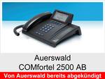 Auerswald COMfortel 2500AB: Schnurgebundenes ISDN-Systemtelefon mit Headsetanschluss