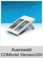 Erweiterung für COMfortel Systemtelefone: Auerswald COMfortel Xtension300 Weiss