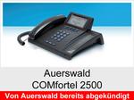 Auerswald COMfortel 2500: Schnurgebundenes ISDN-Systemtelefon mit Headsetanschluss