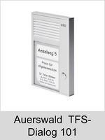 Türsprechtechnik: Auerswald TFS-Dialog 101