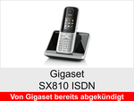 Schnurloses Telefon: Gigaset SX810 ISDN