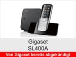 Archiv - Schnurloses Telefon: Gigaset SL400A