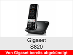 Archiv - Schnurloses Telefon: Gigaset S820