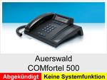 Archiv - Schnurgebundenes analoges Telefon: Auerswald COMfortel 500