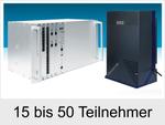 Meine neue Auerswald Telefonanlage ist für 15 bis 50 Teilnehmer (COMmander 6000/6000R)