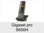 Gigaset pro S650H: Schnurloses Telefon (IP-DECT System)