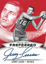JERRY LUCAS / Preferred Signatures - No. 502  (#d 18/20)