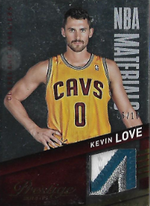 KEVIN LOVE / NBA Materials - No. 15  (#d 6/10)