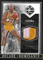 KAREEM ABDUL-JABBAR / Decade Dominance - No. 27  (#d 24/25)