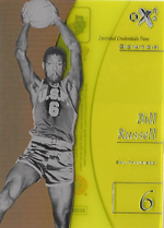 BILL RUSSELL / Essential Credentials Now - No. EX-38  (#d 16/38)