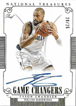 TYSON CHANDLER / Game Changers - No. GC-TC  (#d 20/25)